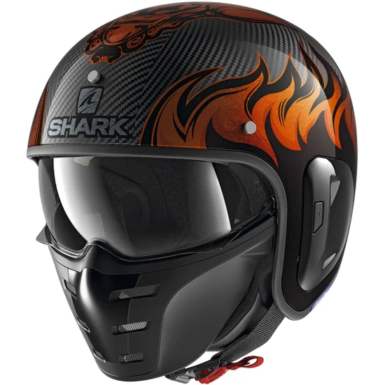 casco-jet-shark-s-drak-dagon-carbon